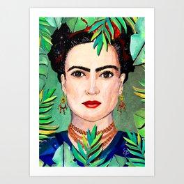 Viva la vida - Frida Art Print