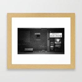 Kim Dung Framed Art Print