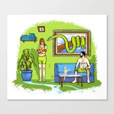 Not The Garden Of Eden Canvas Print