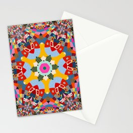 Yarn Bomb Series | Explosion 4 Stationery Cards