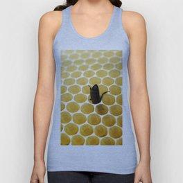 Bee in the honeycomb Unisex Tank Top