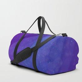 Purple Galaxy Duffle Bag