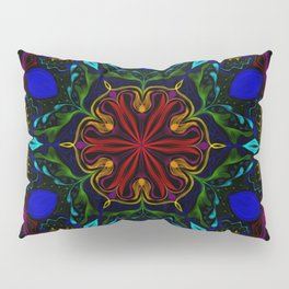 Carnival of Twisted Rainbows Pillow Sham