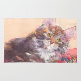 Kitten's Bed of Roses Rug