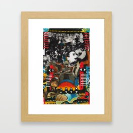 Oozing / Pulsing Framed Art Print