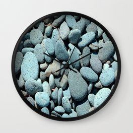 Stones By The River Wall Clock