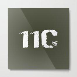 11C Indirect Fire Infantryman (Mortarman) Metal Print