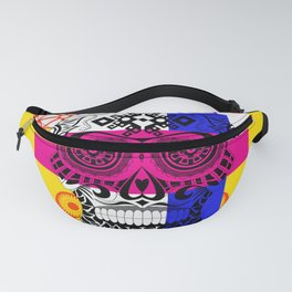 Death with a smile ecopop Fanny Pack