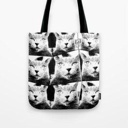 All Grey Everything Tote Bag