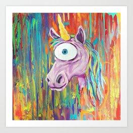 Spirit Animal Sight: Unicorn Art Print