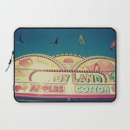 CandyLand ~ vintage-feel carnival Laptop Sleeve