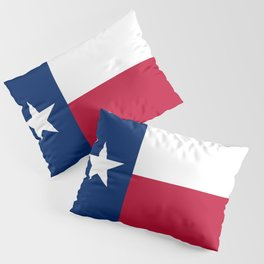 Texan State flag Pillow Sham
