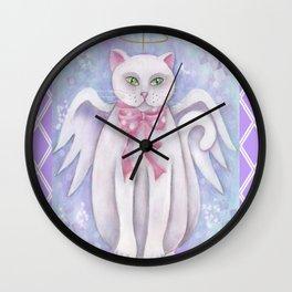 The Angel Cat Wall Clock