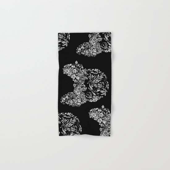 Botanical frenchie Hand & Bath Towel