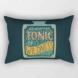 Tonic of Wildness Rectangular Pillow
