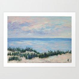 Ocean soul Art Print