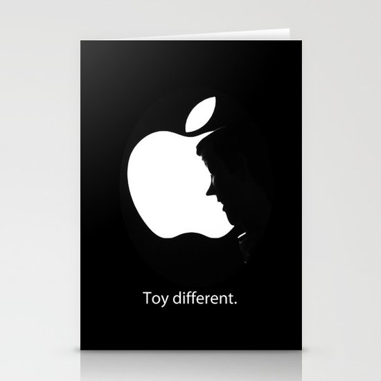 Toy different. Stationery Cards