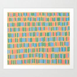 Bookcase #3 Art Print