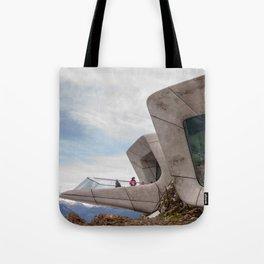 Messner Mountain Museum Corones  | Zaha Hadid Architects Tote Bag
