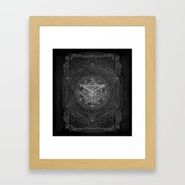 Dark Matter - by Aeonic Framed Art Print