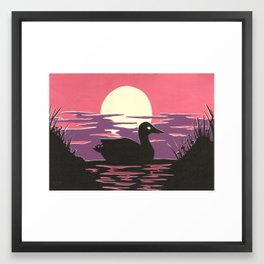 The Lonely Pond Framed Art Print