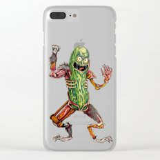 Pickled Up Clear iPhone Case