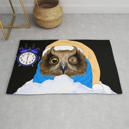 Sleepy Night Owl Rug