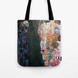 Gustav Klimt - Death and Life Tote Bag