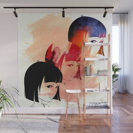 Red Child. Wall Mural