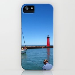 Kenosha Harbor iPhone Case