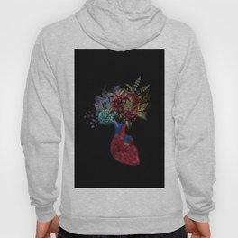 Heart flowers Hoody