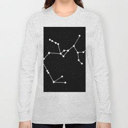 SAGITTARIUS (BLACK & WHITE) Long Sleeve T-shirt