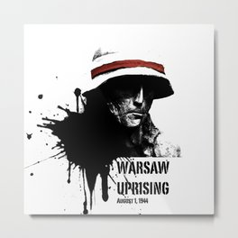 Warsaw Uprising 1944 Metal Print