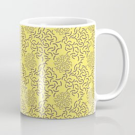 Neo Memphis Coordinate Yellow Purple Coffee Mug