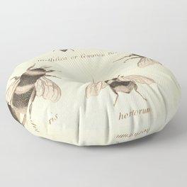 Naturalist Bees Floor Pillow