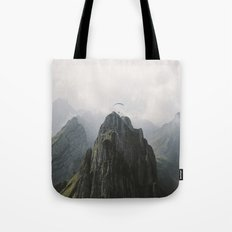 Flying Mountain Explorer - Landscape Photography Tote Bag