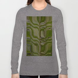 Abstract Germination Long Sleeve T-shirt