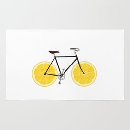 Lemon Bike Rug