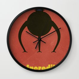 The Incredibles Wall Clock