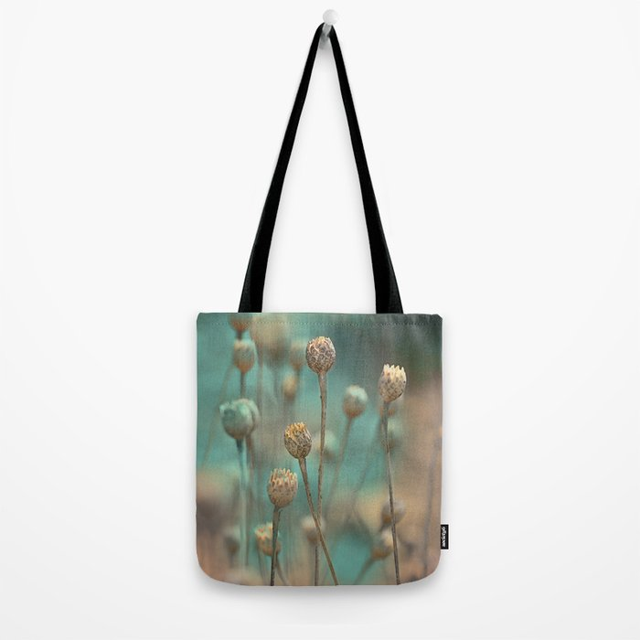 Wild flowers(blue&gold) Tote Bag