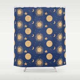 Celestial Bodies Shower Curtain