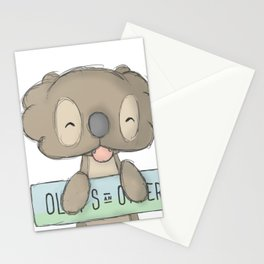 olly one Stationery Cards