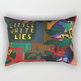 Little White Lies Rectangular Pillow
