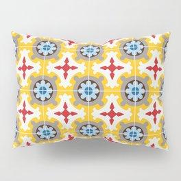 Barcelona retro tile Pillow Sham