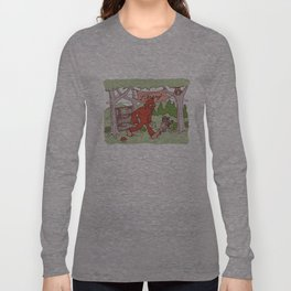 Community Library (Sasquatch) Long Sleeve T-shirt