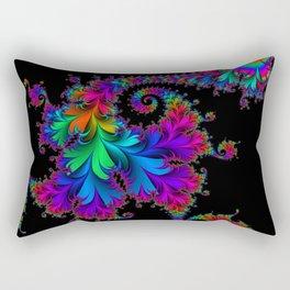 Rainbow Spiral Rectangular Pillow