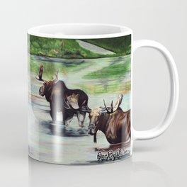 Calm Pond, Newfoundland Moose Coffee Mug