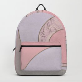 Soft Pastel Elegant Circles Backpack