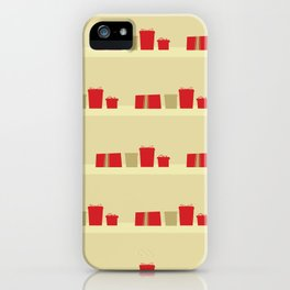 Retro Holiday Gifts iPhone Case