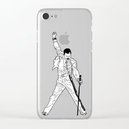 Don't Stop Me Now Clear iPhone Case